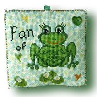 Fan of ... frogs, Design by Chouett'alors