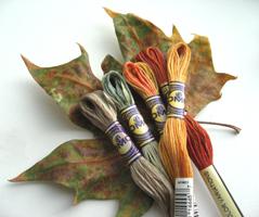 DMC Color Variations - a palette of colors that resembles nature