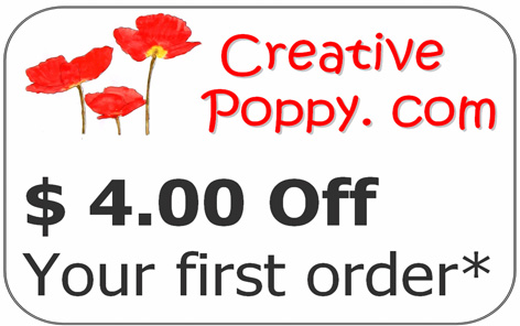 First Time customer Discount - SAVE $4.00* off your first purchase