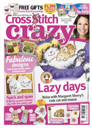 As featured in cross stitch Crazy magazine