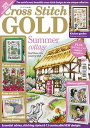 Cross stitch Gold magazine issue 93
