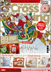 The World of Cross stitch N. 183,  Christmas issue