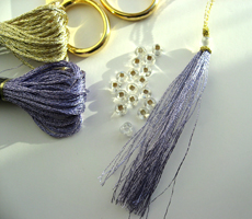 Making mini tassels - list of material