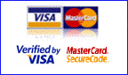 Credit card with Verified by Visa / Mastercard Secure