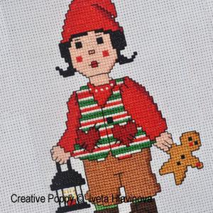 Iveta Hlavinova - Forest Elf (cross stitch pattern chart) (zoom1)