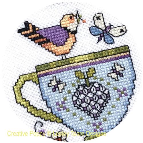 Lesley Teare Designs - Tea Cup 2021 SAL