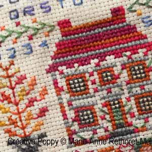 Marie-Anne Réthoret-Mélin - Wishes for every season: Autumn (cross stitch pattern chart ) (zoom1)