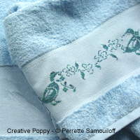 Wandering Ducks - Design for Hand towel