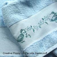 Wandering Ducks - Design for Hand towel