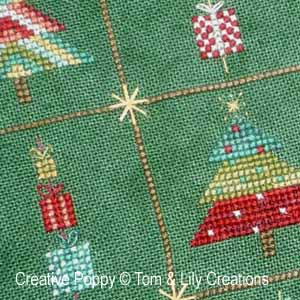 Christmas Trees (9 mini patterns)