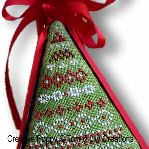 Folklore pyramid tree Ornament