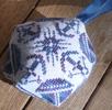 Nautical biscornu - cross stitch pattern - by Agnès Delage-Calvet (zoom 1)