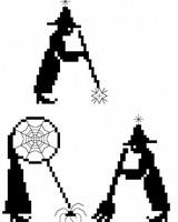 Abracadabra! - cross stitch pattern - by Monique Bonnin (zoom 1)