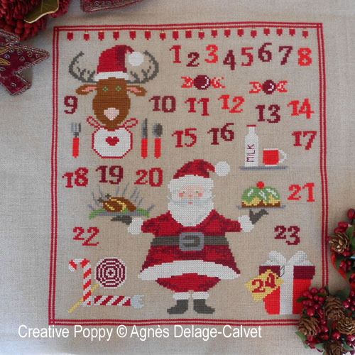 Christmas projects, advent calendars to cross stitch