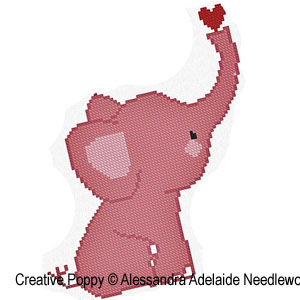 Alessandra adelaide needleworks e is for elephant animal alessandra adelaide needleworks e is for elephant animal alphabet zoom 1 cross stitch thecheapjerseys Choice Image