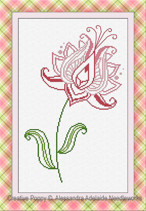 Fiore 2 cross stitch pattern by Alessandra Adelaide Needleworks