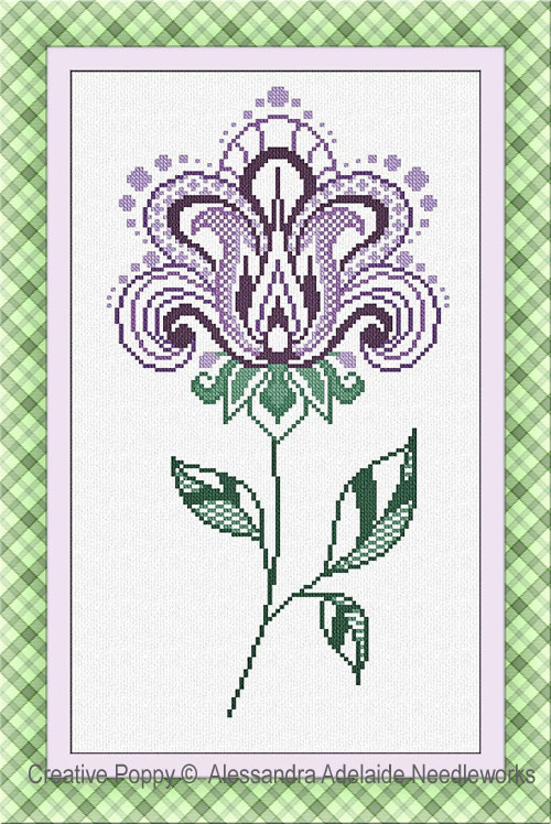 Fiore 3 cross stitch pattern by Alessandra Adelaide Needleworks