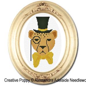 Alessandra Adelaide Needleworks - Gedeone (cross stitch chart)