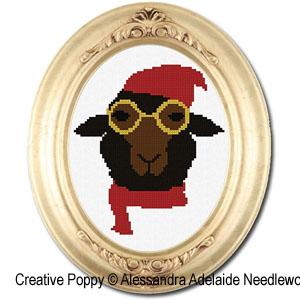 Alessandra Adelaide Needleworks - Adelmo (cross stitch chart)
