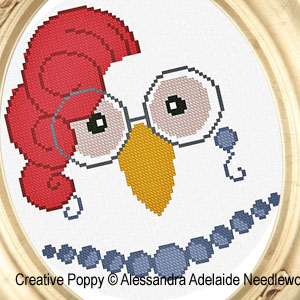 Animal cross stitch patterns designed by <b>Alessandra Adelaide Needleworks</b>