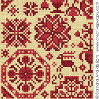 Quaker sampler - pattern III