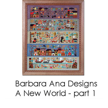 A New World - part 1: The Night of all Fears cross stitch pattern by Barbara Ana Designs