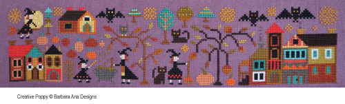 A New World - part 1: The Night of all Fears cross stitch pattern by Barbara Ana Designs, zoom1