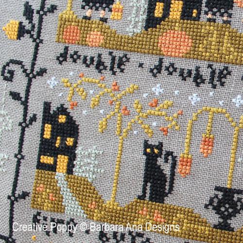 Barbara Ana Designs Black Cat Hollow Part Two Cross