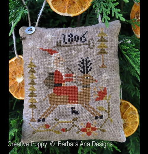 Through the Woods cross stitch pattern by Barbara Ana Designs