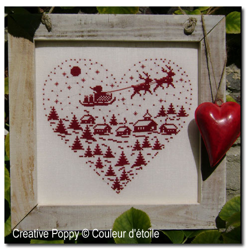 Magical night cross stitch pattern by Couleur d'étoile