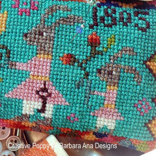 Mom & Me, cross stitch pattern by Barbara Ana designs