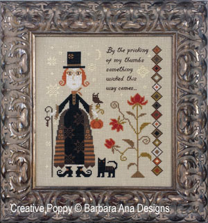 Barbara Ana - Something wicked (cross stitch pattern chart)