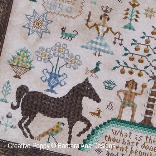 Horses patterns to cross stitch