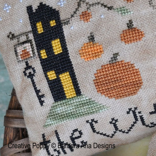 Barbara Ana Designs - The Witch's Inn (Bed & Breakfast) (cross stitch chart)