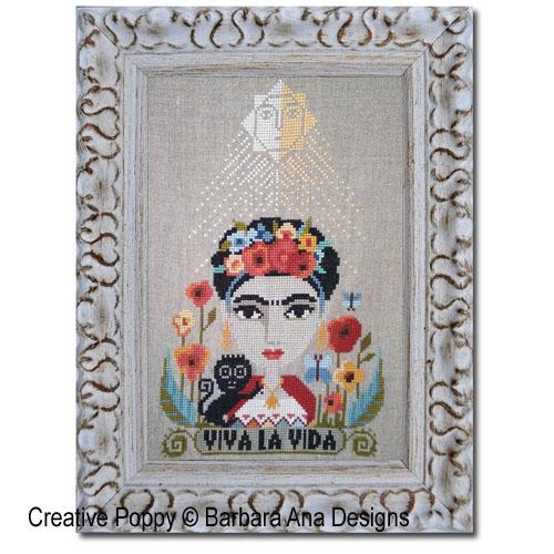 Viva la Vida cross stitch pattern by Barbara Ana Designs