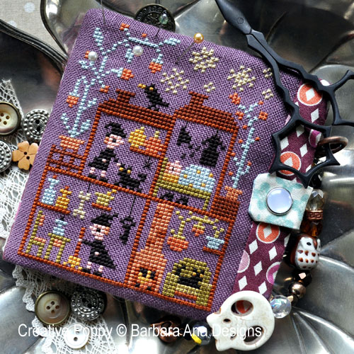 Witch House? cross stitch pattern by Barbara Ana Designs