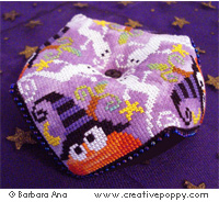 Hallowscornu - cross stitch pattern - by Barbara Ana Designs