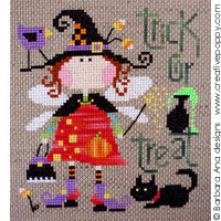 Barbara Ana Olivia The Fairy Witch Cross Stitch