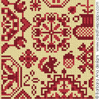 Quaker sampler - pattern II