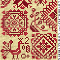 Quaker sampler - pattern IV