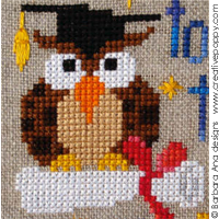 Reach for the stars - cross stitch pattern - by Barbara Ana Designs (zoom 1)