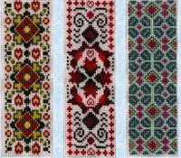 6 bookmark patterns - cross stitch pattern - by Tam's Creations