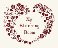 My stitching room - cross stitch pattern - by Couleur d'étoile