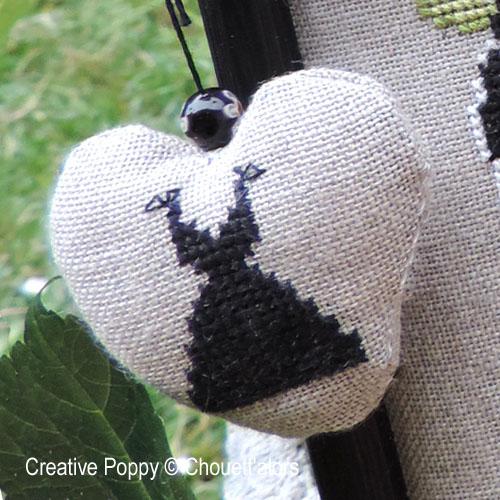 My little black dress cross stitch pattern by Chouett'alors, zoom 1