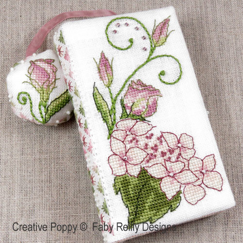 Faby Reilly Designs - Lizzie Stitching Wallet (cross stitch chart)