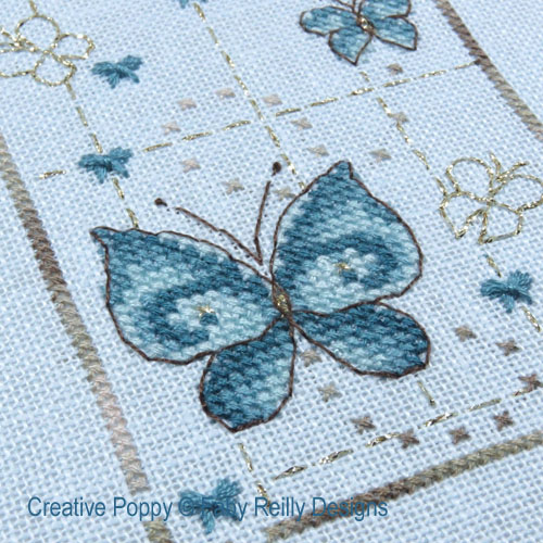 Butterfly Trail cross stitch pattern by Faby Reilly Designs