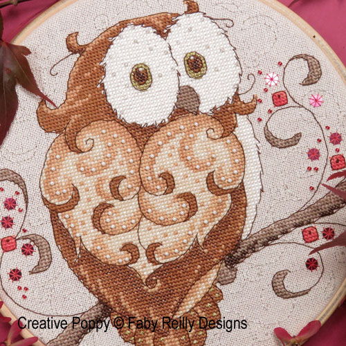 Owls patterns to cross stitch