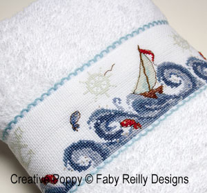 High Seas band cross stitch pattern by Faby Reilly Designs, zoom 1