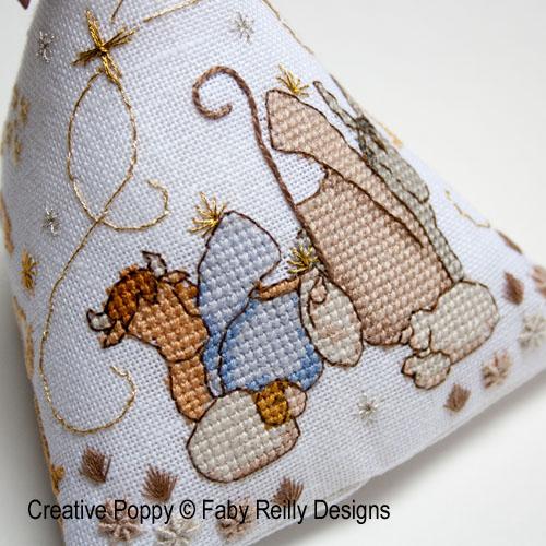 Nativity patterns to cross stitch