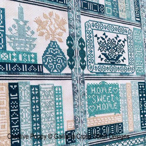 cross stitch patterns designed by <b>Galliana Cross stitch</b>